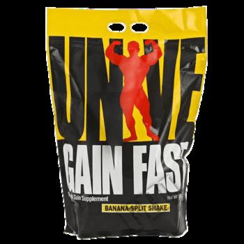 Съдържание » Дозировка » Прием » Как се пие »  GAIN FAST 3100 - 4,5 кг » Universal Nutrition » Качване на мускулна маса