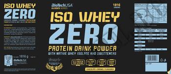 Съдържание » Дозировка » Прием » Как се пие » ULISSES ISO WHEY ZERO » BioTech USA »   Суроватъчен изолат