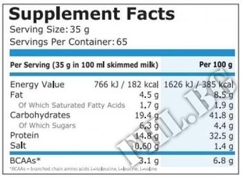Съдържание » Дозировка » Прием » Как се пие »  Protein Pancake 2270 gr.  » Pure Nutrition » Заместител на храна