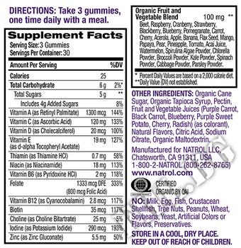 Съдържание » Дозировка » Прием » Как се пие » Womens Multi Gummies » Natrol » Мултивитамини