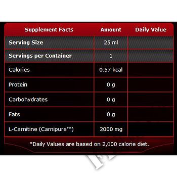 Съдържание » Дозировка » Прием » Как се пие » Carnitine 2000-череша » Pure Nutrition » Течен Л карнитин