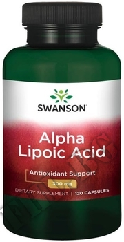 Съдържание » Дозировка » Прием » Как се пие »  Alpha Lipoic Acid  300 mg 60 caps » Swanson » Алфа липоева киселина