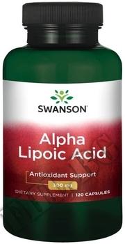 Съдържание » Дозировка » Прием » Как се пие »  Alpha Lipoic Acid  300 mg » Swanson » Алфа липоева киселина