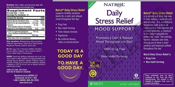 Съдържание » Дозировка » Прием » Как се пие » Daily Stress Relief » Natrol » Добро настроение