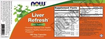 Съдържание » Дозировка » Прием » Как се пие »  Liver Detoxifier & Regenerator  » Now Foods » Черен Дроб