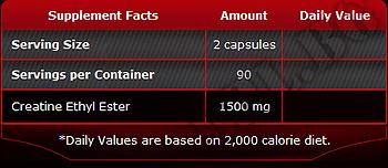 Съдържание » Дозировка » Прием » Как се пие » Creatine ethyl ester » Pure Nutrition » Креатин етил естер