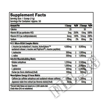 Съдържание » Дозировка » Прием » Как се пие » Amino NRG SX-7 Revolution - 550 g » MuscleTech » BCAA на прах