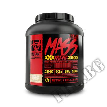 Съдържание » Дозировка » Прием » Как се пие » MASS XXXTREME 2500 - 3180g » Mutant » Гейнъри