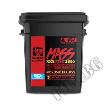 Съдържание » Дозировка » Прием » Как се пие » MASS XXXTREME 2500 - 10000 g » Mutant » Гейнъри