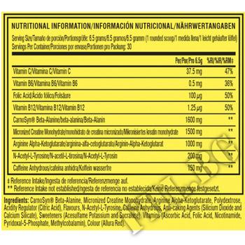 Съдържание » Дозировка » Прием » Как се пие »  Cellucor C4 Original - 30 servings » Cellucor » Топ 10 Азотни бустери