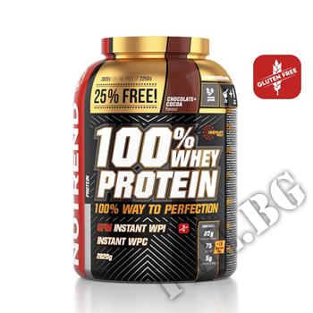 Съдържание » Дозировка » Прием » Как се пие » 100% WHEY Protein 2,820g » Nutrend » Суроватъчен протеин