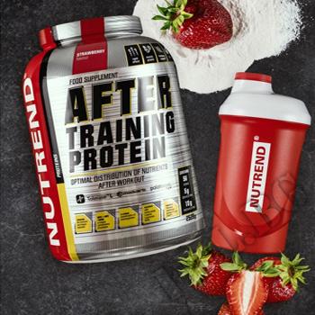 Съдържание » Дозировка » Прием » Как се пие » After Training Protein - 2520g » Nutrend » Суроватъчен протеин