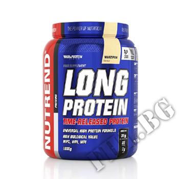 Съдържание » Дозировка » Прием » Как се пие » Long Protein - 1000g » Nutrend » Протеинова матрица