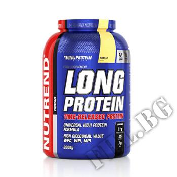 Съдържание » Дозировка » Прием » Как се пие » Long Protein - 2200g » Nutrend » Протеинова матрица