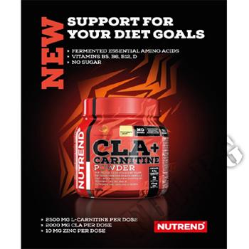 Съдържание » Дозировка » Прием » Как се пие » CLA + Creatine Powder - 300g » Nutrend » Фет блокери CLA