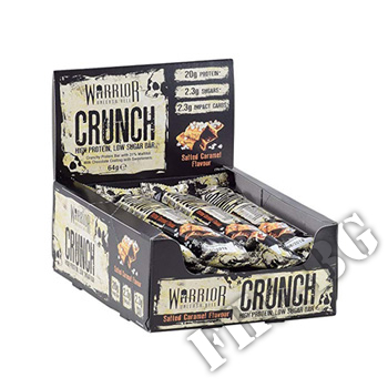 Съдържание » Дозировка » Прием » Как се пие » Warrior Crunch High Protein Low Carb Bar » Warrior Nutrition » Протеинови Барове