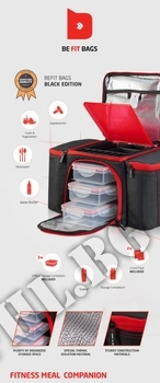 Съдържание » Дозировка » Прием » Как се пие » BeFit Bag  Фитнес Чанта за Храна » PROZIS FOODS » Фитнес аксесоари