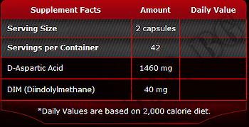 Съдържание » Дозировка » Прием » Как се пие » Testamax  » Pure Nutrition » D-аспарагинова киселина