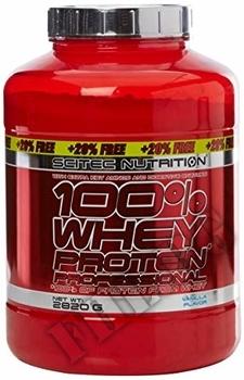 Съдържание » Дозировка » Прием » Как се пие »  100 % Whey Protein Professional 2350 g » Scitec » Суроватъчен протеин