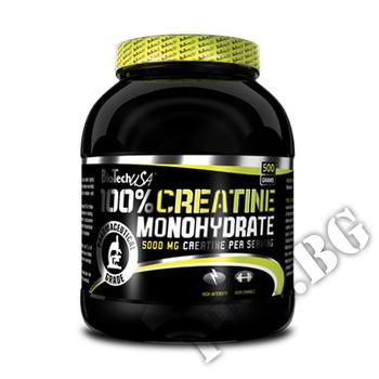 Съдържание » Дозировка » Прием » Как се пие » 100% Creatine Monohydrate 300gr » BioTech USA » Креатин монохидрат