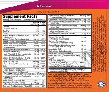 Съдържание » Дозировка » Прием » Как се пие »  Eve Women's Vitamins 90 softgels » Now Foods » Мултивитамини