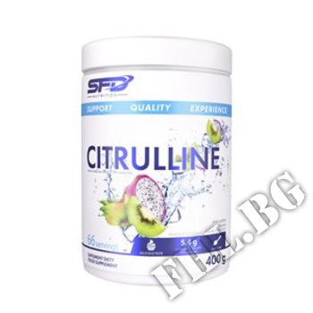 Съдържание » Дозировка » Прием » Как се пие » Citrulline 400gr » SFD NUTRITION » Азотни бустери
