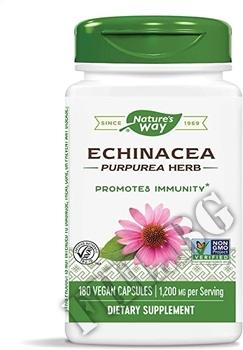 Съдържание » Дозировка » Прием » Как се пие » Echinacea Herb 400 mg » Nature's Way » Ехинацея