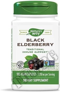 Съдържание » Дозировка » Прием » Как се пие » Elderberry » Nature's Way » Здраве и Тонус