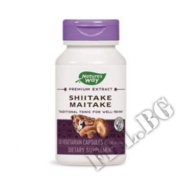 Съдържание » Дозировка » Прием » Как се пие » Shiitake Maitake Stand » Nature's Way » Лечебни Гъби