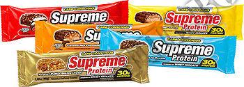Съдържание » Дозировка » Прием » Как се пие » Supreme Bar - Сладкиш с Фъстъчено Масло - 96 г » Supreme Protein  » Протеинови Барове