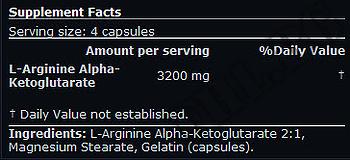 Съдържание » Дозировка » Прием » Как се пие »  AAKG Arginine » Scitec » Аргинин