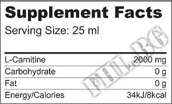 Съдържание » Дозировка » Прием » Как се пие »  L-carnitine 2000 mg » BioTech USA » Течен Л карнитин