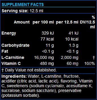 Съдържание » Дозировка » Прием » Как се пие » Carni-X Liquid 80000-L-Carnitine  » Scitec » Течен Л карнитин