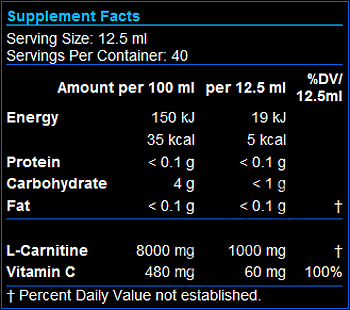 Съдържание » Дозировка » Прием » Как се пие » Carni-X Liquid 40000-L-Carnitine  » Scitec » Течен Л карнитин
