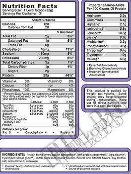 Съдържание » Дозировка » Прием » Как се пие » Matrix 2.0 - Perfect Chocolate Syntrax » Syntrax » Протеинова матрица