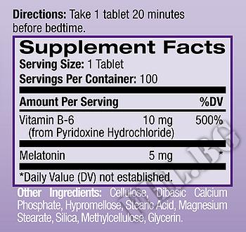 Съдържание » Дозировка » Прием » Как се пие » Melatonin 5mg с удължено освобождаване  » Natrol » Здрав сън