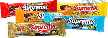 Съдържание » Дозировка » Прием » Как се пие » Supreme Bar - Бисквита и Сметана - 45 г   » Supreme Protein  » Протеинови Барове