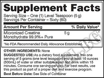 Съдържание » Дозировка » Прием » Как се пие » Qualitine 300гр » Gaspari Nutrition » Креатин монохидрат