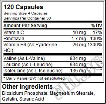 Съдържание » Дозировка » Прием » Как се пие » BCAA PRO 100cap » Universal Nutrition » BCAA