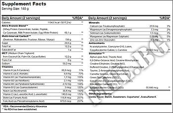 Съдържание » Дозировка » Прием » Как се пие » Nitro Gain 908гр » BioTech USA » Качване на мускулна маса