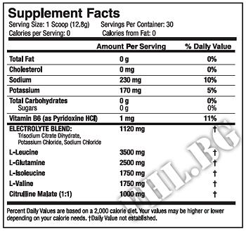 Съдържание » Дозировка » Прием » Как се пие »  Xtend new formula » Scivation » BCAA на прах