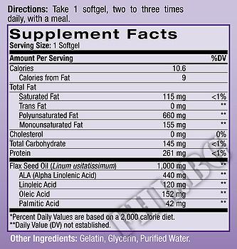 Съдържание » Дозировка » Прием » Как се пие » Flaxseed Oil 200 caps » Natrol » Омега 3 Ленено масло
