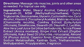 Съдържание » Дозировка » Прием » Как се пие » МСМ / Глюкозамин Крем » Natrol » Стави и сухожилия