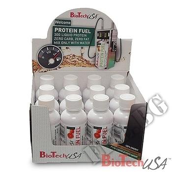 Съдържание » Дозировка » Прием » Как се пие » PROTEIN FUEL, liquid /12 x 50 ml » BioTech USA » Протеин
