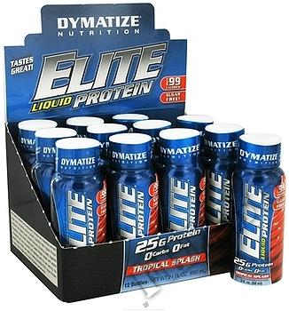 Съдържание » Дозировка » Прием » Как се пие » Elite Liquid Protein  » Dymatize  » Протеин на дози