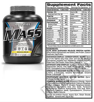 Съдържание » Дозировка » Прием » Как се пие » Elite mass gainer 3.3 lbs » Dymatize  » Гейнъри