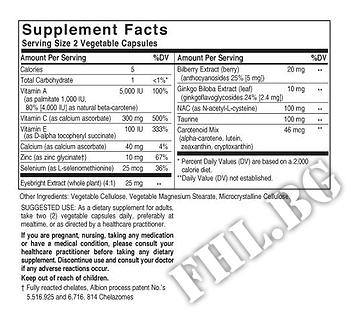 Съдържание » Дозировка » Прием » Как се пие » Bilberry Ginkgo Eyebright Complex » Solgar » Здраве и Тонус